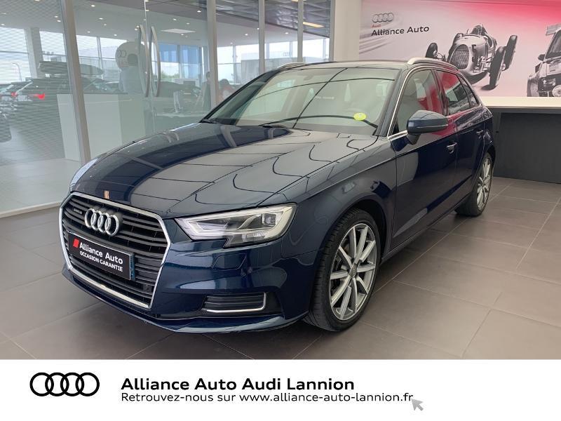 Photo 1 de l'offre de AUDI A3 Sportback 2.0 TDI 184ch Design luxe quattro S tronic 7 à 24900€ chez Alliance Auto – Audi Lannion