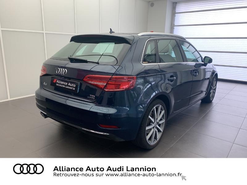 Photo 4 de l'offre de AUDI A3 Sportback 2.0 TDI 184ch Design luxe quattro S tronic 7 à 24900€ chez Alliance Auto – Audi Lannion