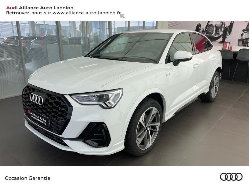 Audi Q3 Sportback 35 TDI 150ch S line S tronic 7 Diesel BLANC Occasion à vendre