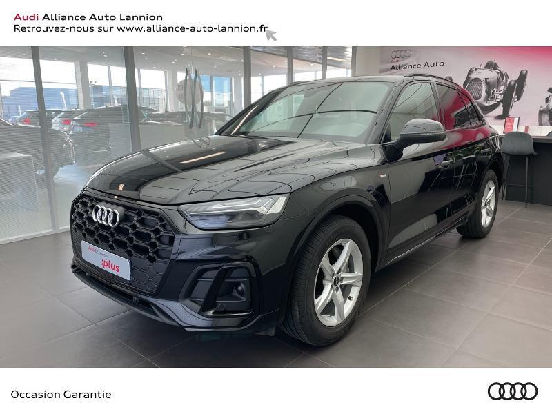 Audi Q5 35 TDI 163ch S line S tronic 7 Euro6dT Diesel NOIR MYTHIC Occasion à vendre