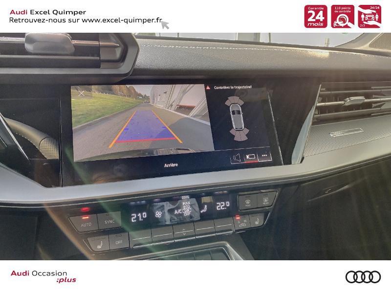 Photo 18 de l'offre de AUDI A3 Sportback 35 TDI 150ch S line S tronic 7 à 43690€ chez Excel automobiles - Audi Quimper