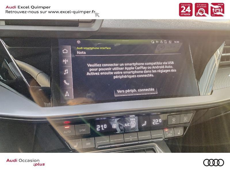 Photo 19 de l'offre de AUDI A3 Sportback 35 TDI 150ch S line S tronic 7 à 43690€ chez Excel automobiles - Audi Quimper