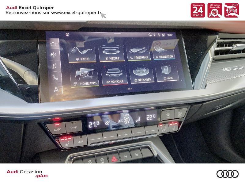 Photo 16 de l'offre de AUDI A3 Sportback 35 TDI 150ch S line S tronic 7 à 43690€ chez Excel automobiles - Audi Quimper