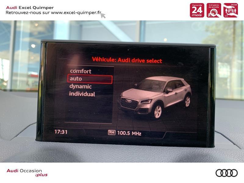 Photo 19 de l'offre de AUDI Q2 30 TDI 116ch S line S tronic 7 Euro6d-T à 31490€ chez Excel automobiles - Audi Quimper
