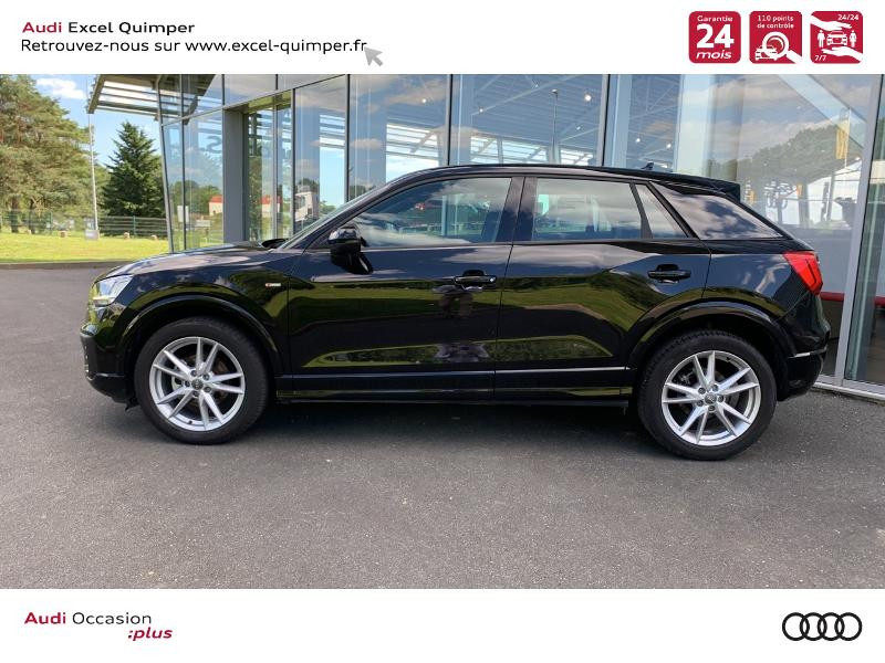 Photo 3 de l'offre de AUDI Q2 30 TDI 116ch S line S tronic 7 Euro6d-T à 31490€ chez Excel automobiles - Audi Quimper