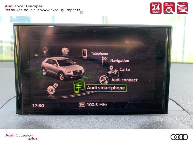 Photo 13 de l'offre de AUDI Q2 30 TDI 116ch S line S tronic 7 Euro6d-T à 31490€ chez Excel automobiles - Audi Quimper