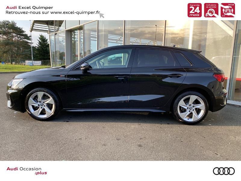 Photo 3 de l'offre de AUDI A3 Sportback 35 TDI 150ch S line S tronic 7 à 43690€ chez Excel automobiles - Audi Quimper
