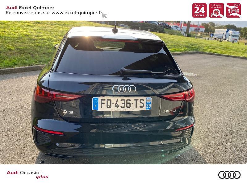 Photo 5 de l'offre de AUDI A3 Sportback 35 TDI 150ch S line S tronic 7 à 43690€ chez Excel automobiles - Audi Quimper