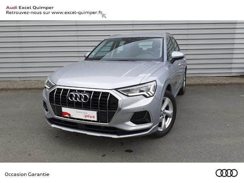 Audi Q3 35 TDI 150ch Design Luxe S tronic 7 Diesel ARGENT FLEURET Occasion à vendre