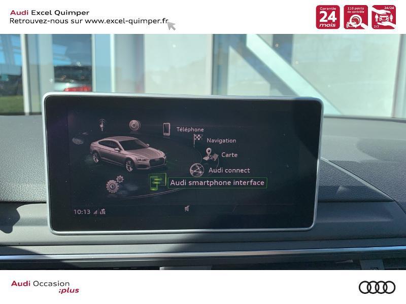 Photo 16 de l'offre de AUDI A5 Sportback 40 TFSI 190ch Design Luxe S tronic 7 Euro6d-T à 38990€ chez Excel automobiles - Audi Quimper
