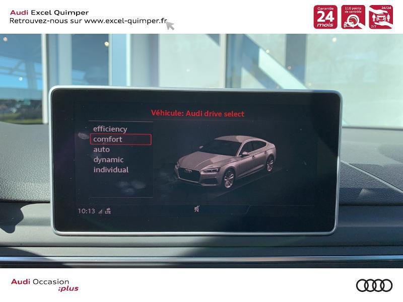 Photo 18 de l'offre de AUDI A5 Sportback 40 TFSI 190ch Design Luxe S tronic 7 Euro6d-T à 38990€ chez Excel automobiles - Audi Quimper
