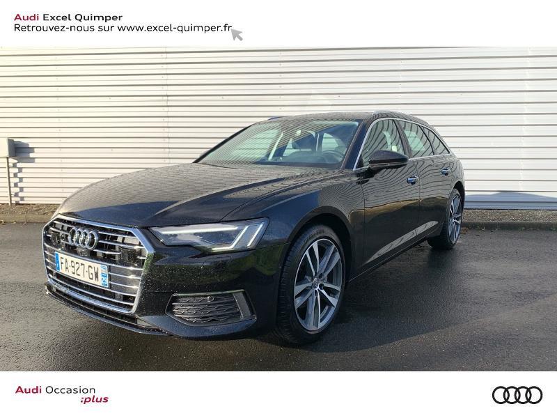 Audi A6 Avant 40 TDI 204ch Avus S tronic 7 126g Diesel Noir Mythic Occasion à vendre