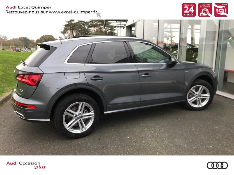 Photo 4 de l'offre de AUDI Q5 2.0 TDI 163ch S line quattro S tronic 7 Euro6d-T à 44990€ chez Excel automobiles - Audi Quimper