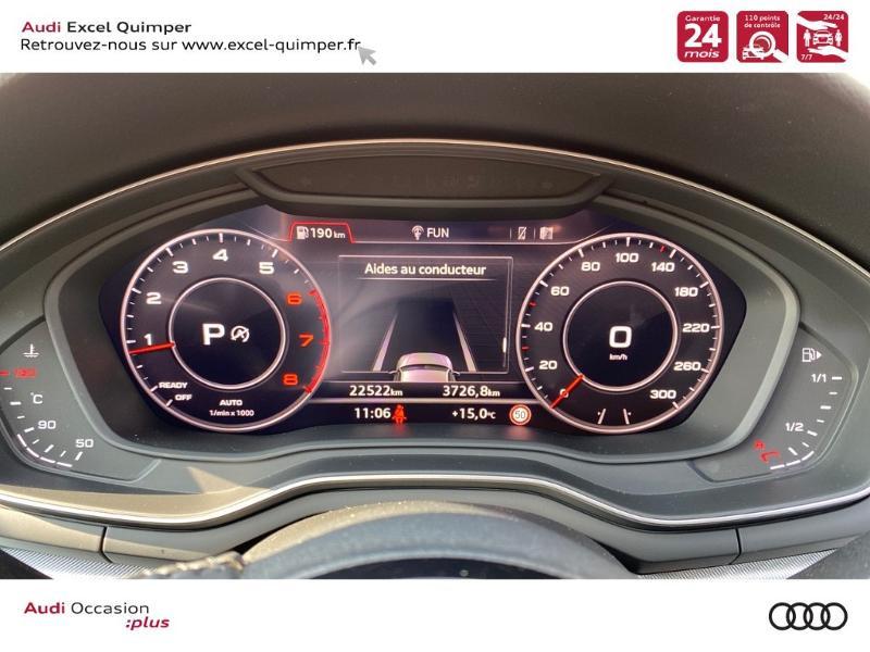 Photo 20 de l'offre de AUDI A4 Avant 35 TFSI 150ch Design Luxe S tronic 7 Euro6d-T à 36290€ chez Excel automobiles - Audi Quimper