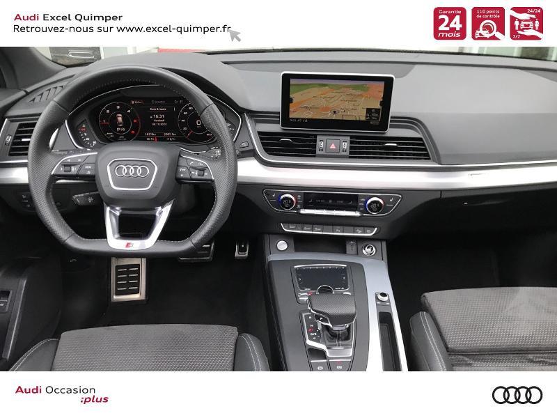 Photo 6 de l'offre de AUDI Q5 2.0 TDI 163ch S line quattro S tronic 7 Euro6d-T à 44990€ chez Excel automobiles - Audi Quimper