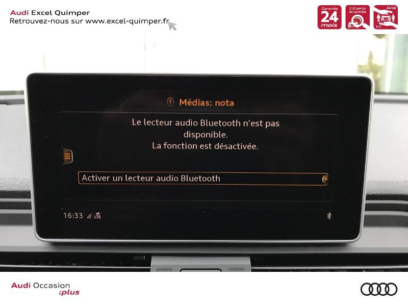 Photo 14 de l'offre de AUDI Q5 2.0 TDI 163ch S line quattro S tronic 7 Euro6d-T à 44990€ chez Excel automobiles - Audi Quimper