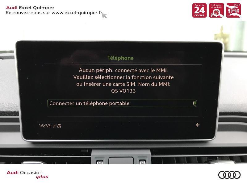 Photo 13 de l'offre de AUDI Q5 2.0 TDI 163ch S line quattro S tronic 7 Euro6d-T à 44990€ chez Excel automobiles - Audi Quimper