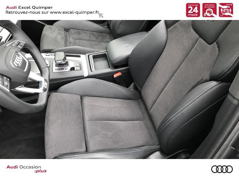 Photo 7 de l'offre de AUDI Q5 2.0 TDI 163ch S line quattro S tronic 7 Euro6d-T à 44990€ chez Excel automobiles - Audi Quimper