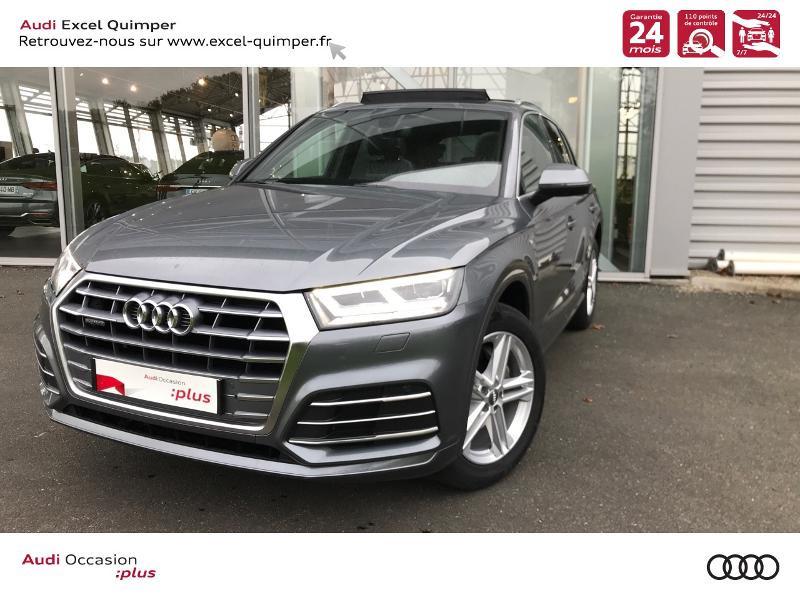 Photo 1 de l'offre de AUDI Q5 2.0 TDI 163ch S line quattro S tronic 7 Euro6d-T à 44990€ chez Excel automobiles - Audi Quimper