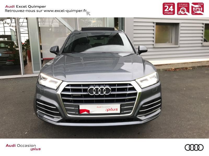 Photo 2 de l'offre de AUDI Q5 2.0 TDI 163ch S line quattro S tronic 7 Euro6d-T à 44990€ chez Excel automobiles - Audi Quimper