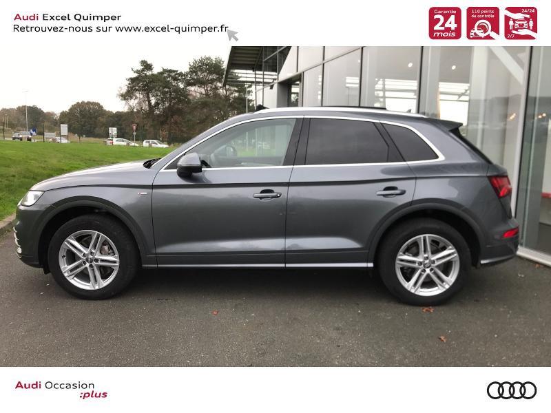 Photo 3 de l'offre de AUDI Q5 2.0 TDI 163ch S line quattro S tronic 7 Euro6d-T à 44990€ chez Excel automobiles - Audi Quimper