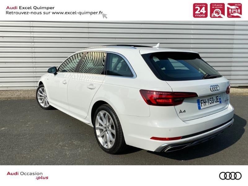 Photo 4 de l'offre de AUDI A4 Avant 35 TFSI 150ch Design Luxe S tronic 7 Euro6d-T à 36290€ chez Excel automobiles - Audi Quimper