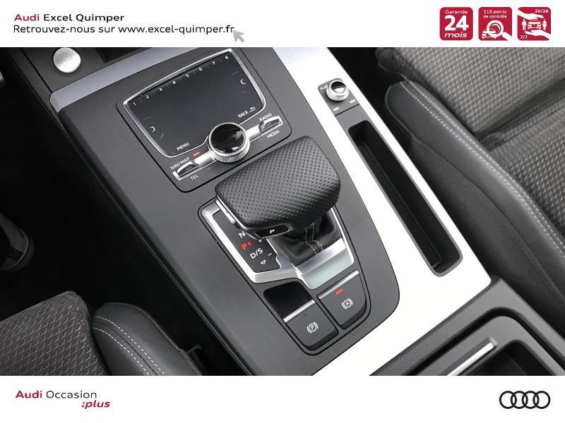Photo 16 de l'offre de AUDI Q5 2.0 TDI 163ch S line quattro S tronic 7 Euro6d-T à 44990€ chez Excel automobiles - Audi Quimper