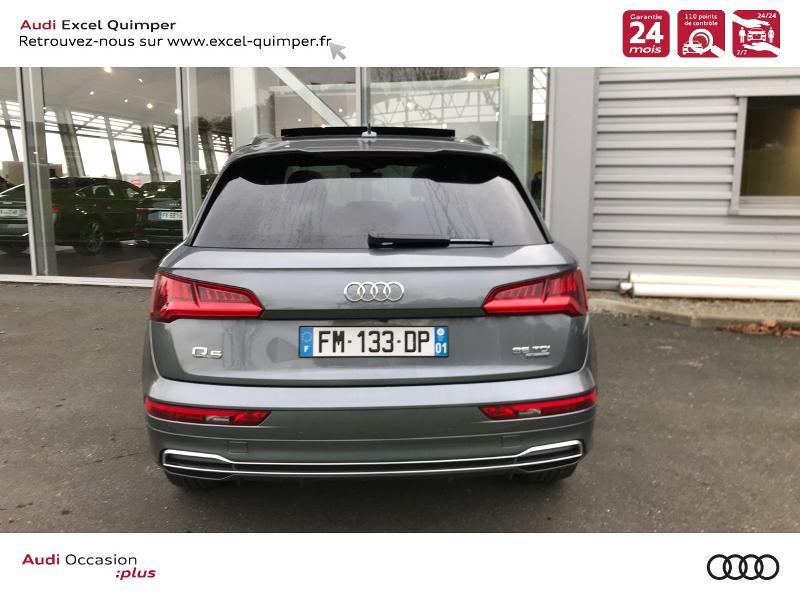 Photo 5 de l'offre de AUDI Q5 2.0 TDI 163ch S line quattro S tronic 7 Euro6d-T à 44990€ chez Excel automobiles - Audi Quimper