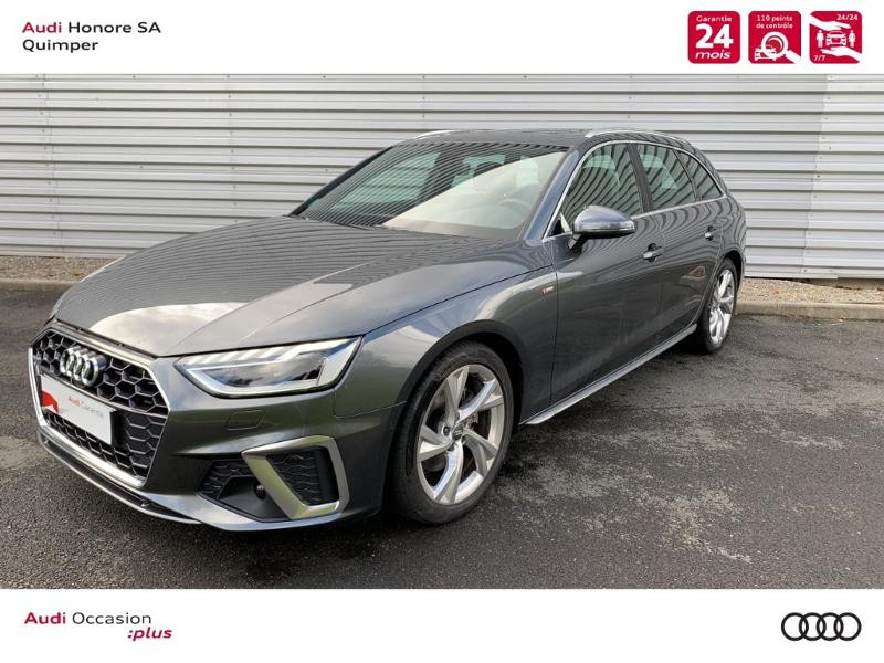 Audi A4 Avant 35 TDI 163ch S line S tronic 7 Diesel GRIS DAYTONA Occasion à vendre