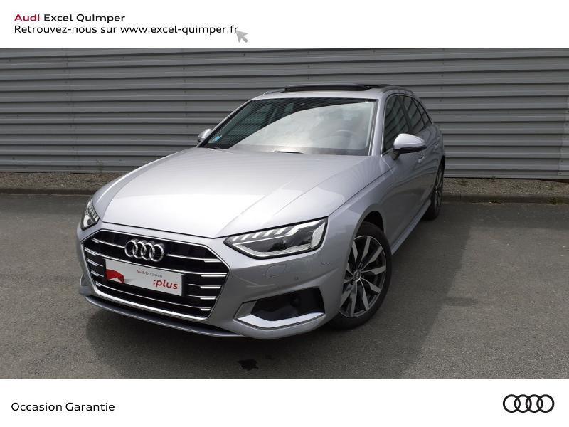 Audi A4 Avant 35 TDI 163ch Avus S tronic 7 9cv Diesel ARGENT FLEURET Occasion à vendre