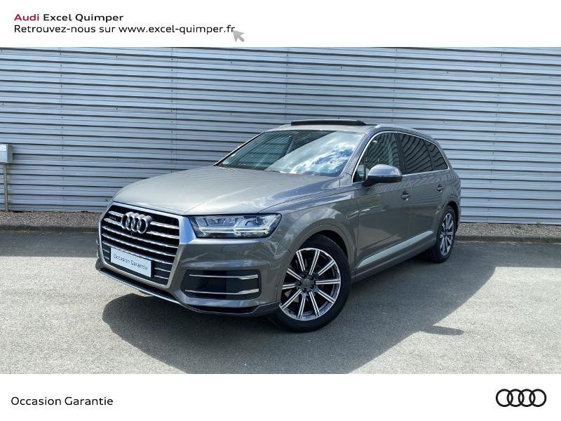 Audi Q7 3.0 V6 TDI 272ch clean diesel Avus Extended quattro Tiptronic 5 places 17cv Diesel GRIS GRAPHITE Occasion à vendre
