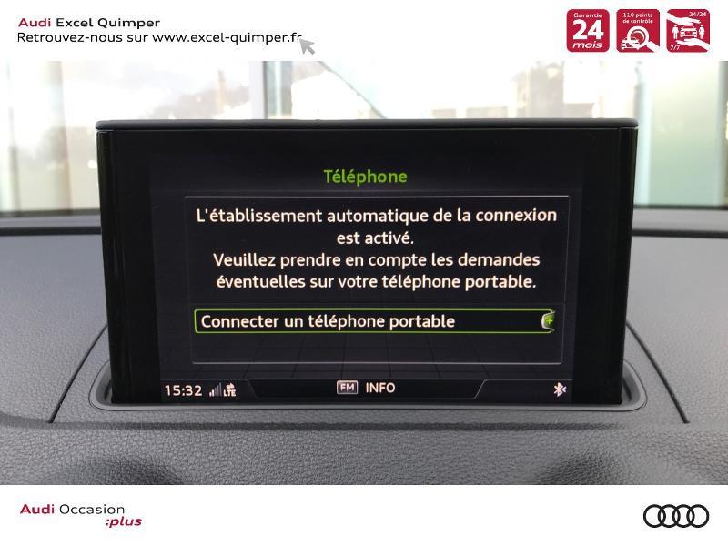 Photo 11 de l'offre de AUDI A3 Sportback 30 TDI 116ch S line Euro6d-T à 25990€ chez Excel automobiles - Audi Quimper