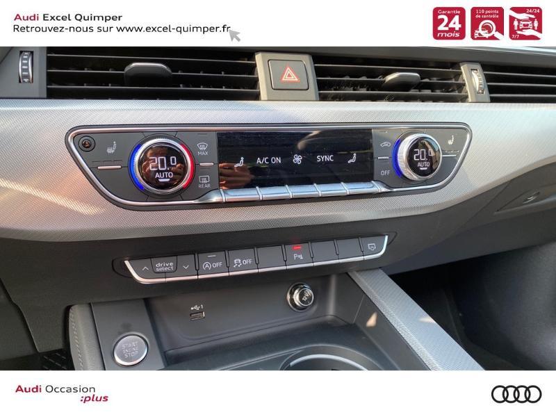 Photo 17 de l'offre de AUDI A4 Avant 35 TFSI 150ch Design Luxe S tronic 7 Euro6d-T à 36290€ chez Excel automobiles - Audi Quimper