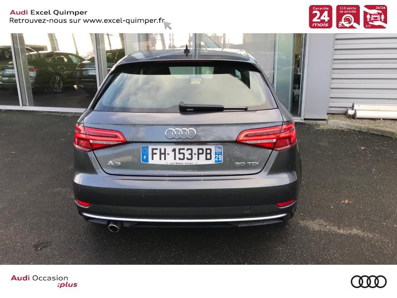 Photo 5 de l'offre de AUDI A3 Sportback 30 TDI 116ch S line Euro6d-T à 25990€ chez Excel automobiles - Audi Quimper