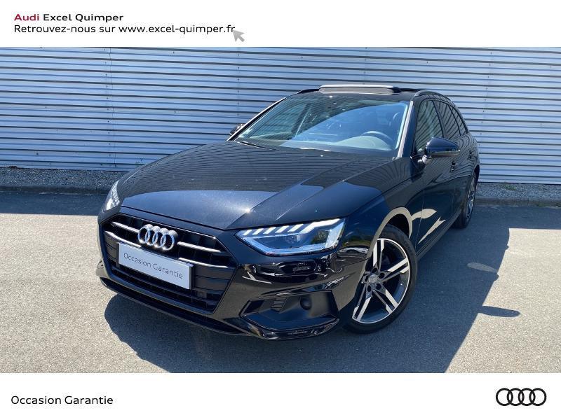 Audi A4 Avant 35 TDI 163ch Avus S tronic 7 9cv Diesel NOIR Occasion à vendre