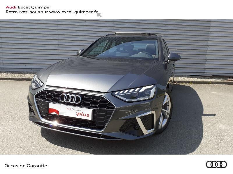 Audi A4 Avant 35 TDI 163ch S line S tronic 7 94g Diesel GRIS DAYTONA Occasion à vendre