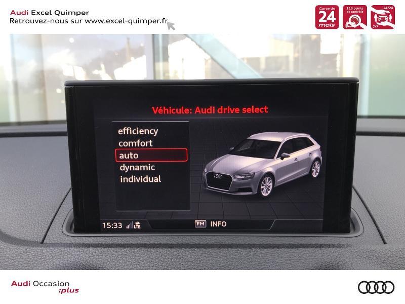 Photo 12 de l'offre de AUDI A3 Sportback 30 TDI 116ch S line Euro6d-T à 25990€ chez Excel automobiles - Audi Quimper