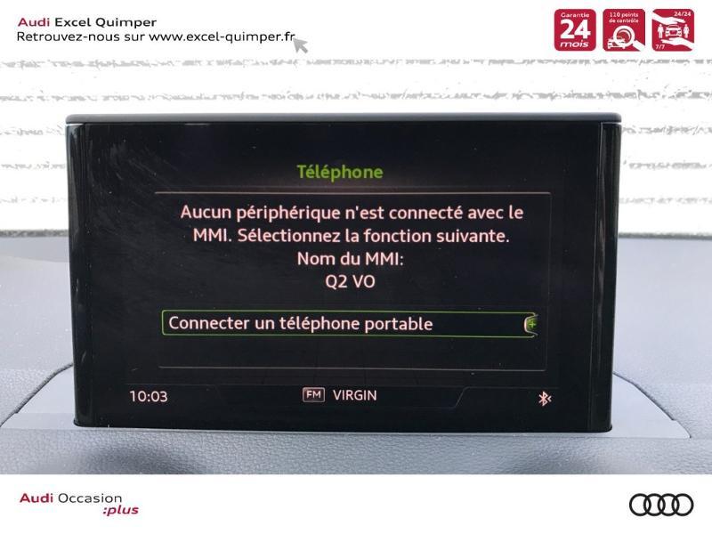 Photo 11 de l'offre de AUDI Q2 30 TDI 116ch Sport Euro6d-T 124g à 26990€ chez Excel automobiles - Audi Quimper