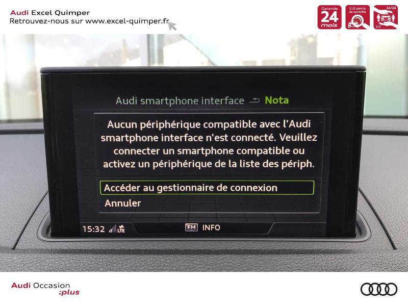 Photo 10 de l'offre de AUDI A3 Sportback 30 TDI 116ch S line Euro6d-T à 25990€ chez Excel automobiles - Audi Quimper