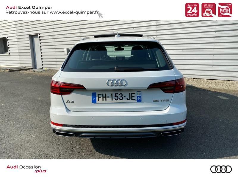 Photo 5 de l'offre de AUDI A4 Avant 35 TFSI 150ch Design Luxe S tronic 7 Euro6d-T à 36290€ chez Excel automobiles - Audi Quimper