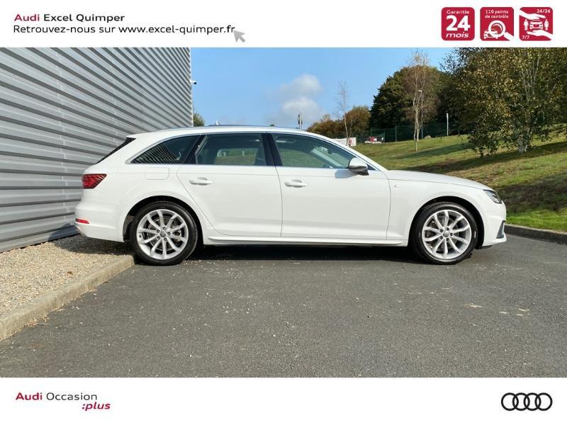 Photo 3 de l'offre de AUDI A4 Avant 35 TFSI 150ch Design Luxe S tronic 7 Euro6d-T à 36290€ chez Excel automobiles - Audi Quimper
