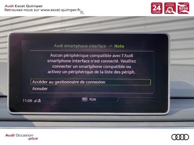 Photo 19 de l'offre de AUDI A4 Avant 35 TFSI 150ch Design Luxe S tronic 7 Euro6d-T à 36290€ chez Excel automobiles - Audi Quimper