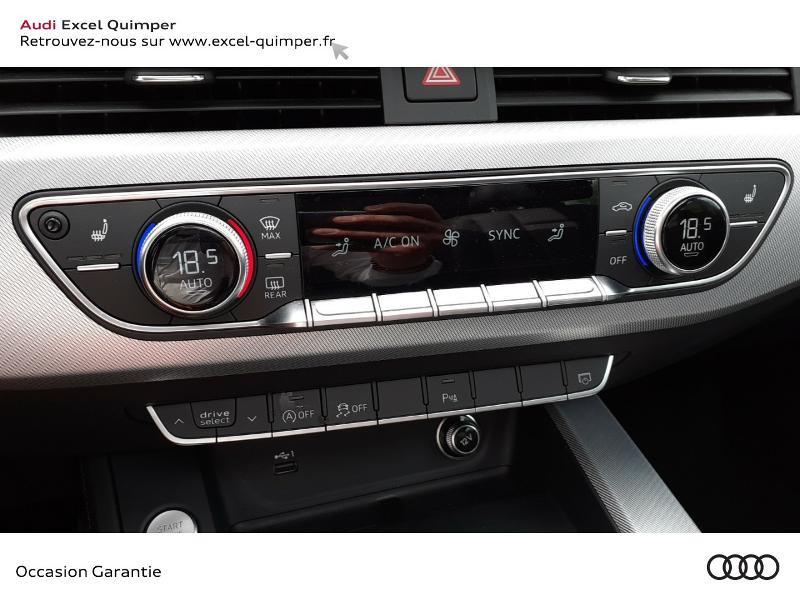Photo 16 de l'offre de AUDI A4 Avant 35 TDI 163ch Avus S tronic 7 9cv à 40990€ chez Excel automobiles - Audi Quimper