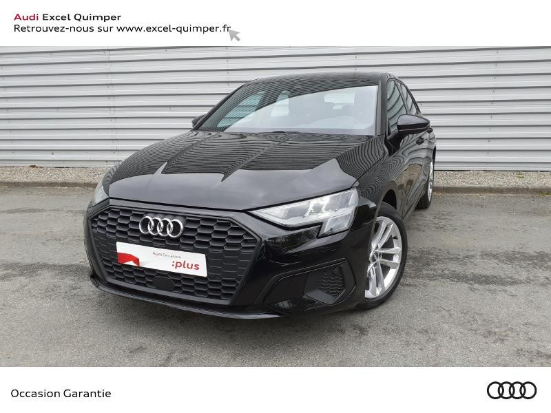 Photo 1 de l'offre de AUDI A3 Sportback 35 TDI 150ch Design S tronic 7 à 31990€ chez Excel automobiles - Audi Quimper