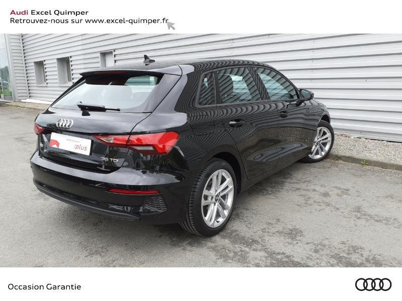 Photo 4 de l'offre de AUDI A3 Sportback 35 TDI 150ch Design S tronic 7 à 31990€ chez Excel automobiles - Audi Quimper