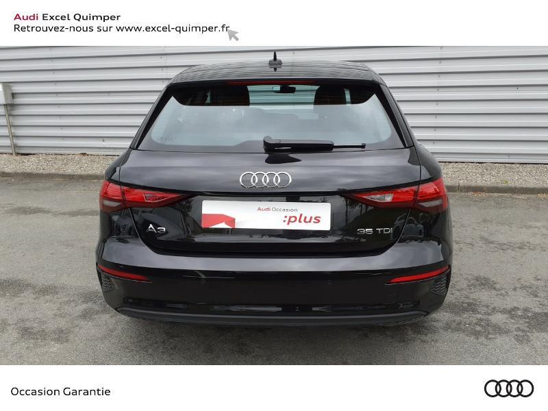 Photo 5 de l'offre de AUDI A3 Sportback 35 TDI 150ch Design S tronic 7 à 31990€ chez Excel automobiles - Audi Quimper