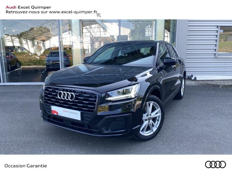 Audi Q2 1.6 TDI 116ch S line S tronic 7 Diesel NOIR MYTHIC Occasion à vendre