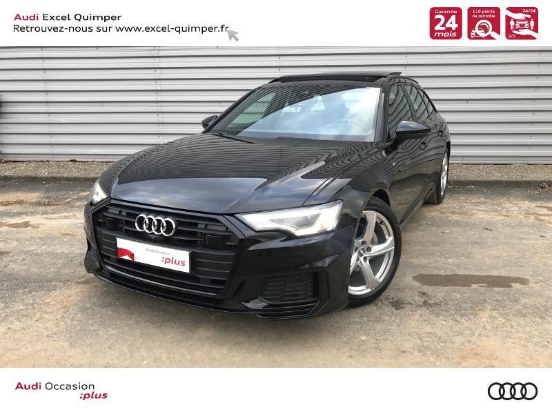 Audi A6 Avant 40 TDI 204ch S line S tronic 7 126g Diesel NOIR MYTHIC Occasion à vendre
