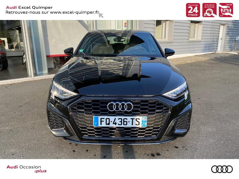 Photo 2 de l'offre de AUDI A3 Sportback 35 TDI 150ch S line S tronic 7 à 42500€ chez Excel automobiles - Audi Quimper
