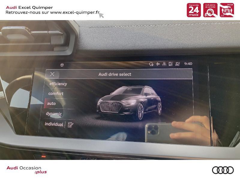 Photo 20 de l'offre de AUDI A3 Sportback 35 TDI 150ch S line S tronic 7 à 42500€ chez Excel automobiles - Audi Quimper